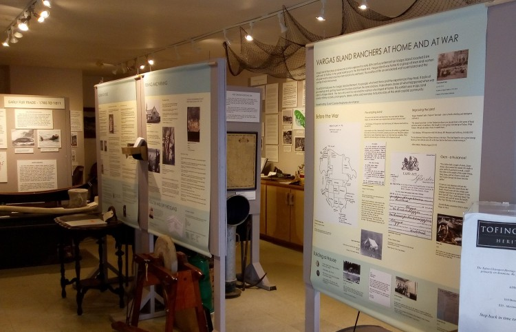 Vargas Island Ranchers at Home and at War exhibit