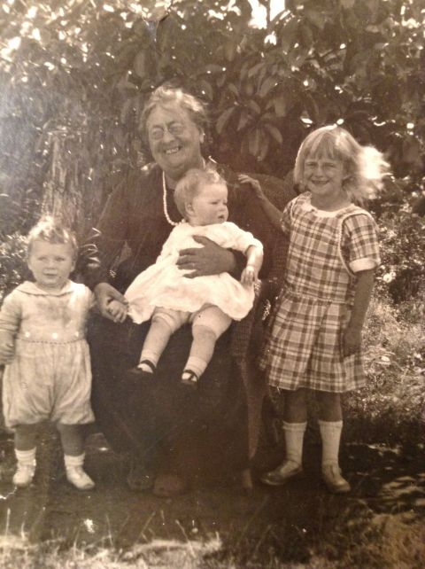 dick warner and cousin marguerite and grandmother emma