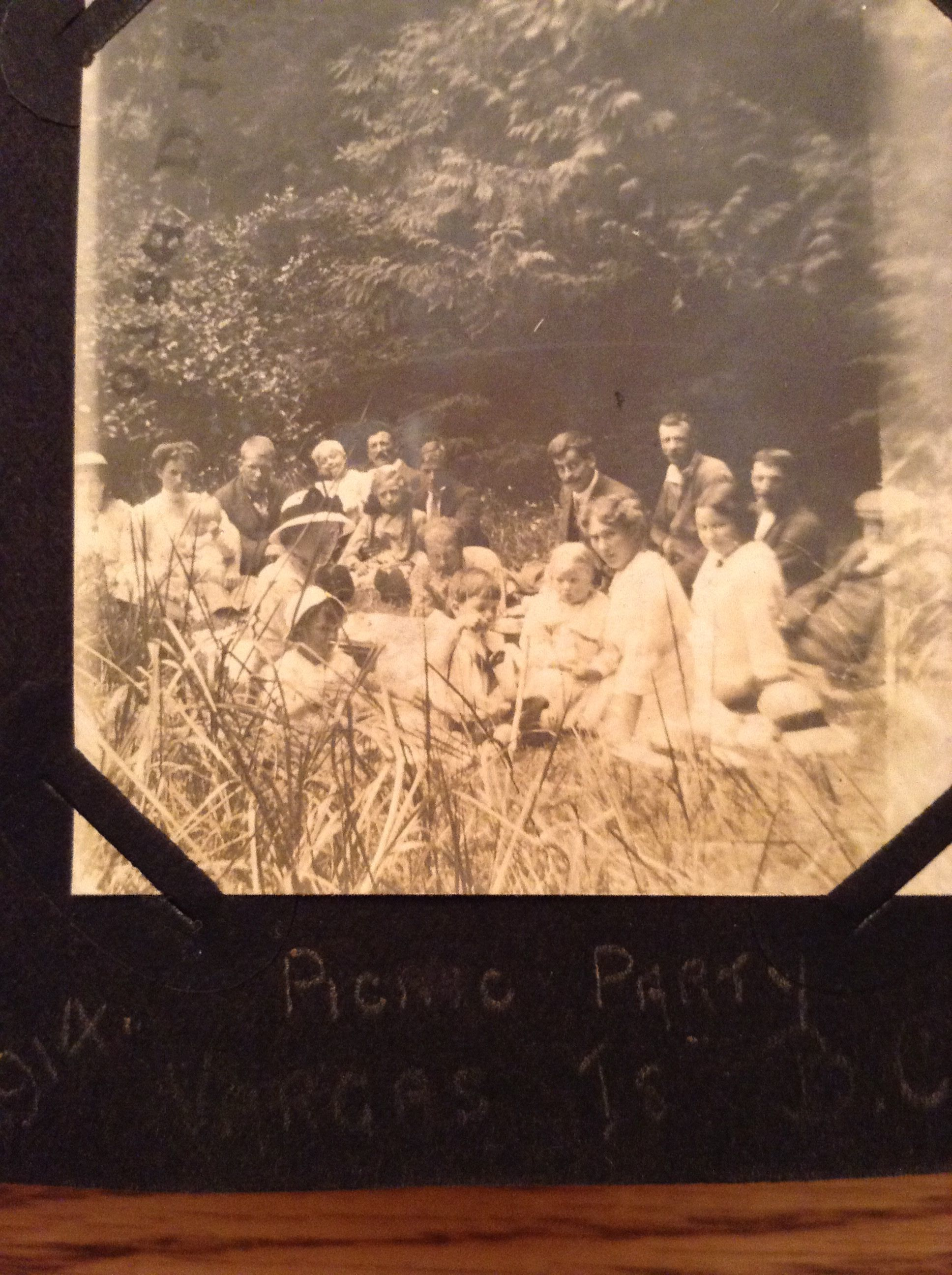 Picnic Party on Vargas Island 1914